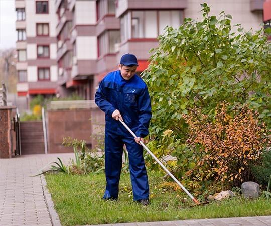 Уборка территории в Новокузнецке и Кемеровской области