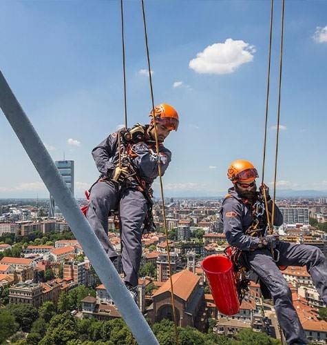 Услуги промышленного альпинизма в Новокузнецке