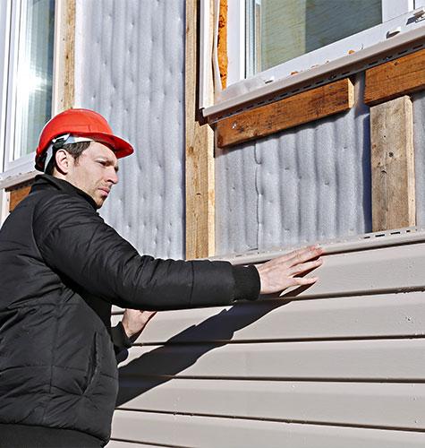 Отделка и ремонт фасада в Новокузнецке
