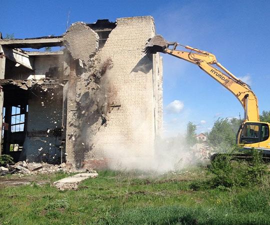 Демонтаж зданий в Новокузнецке и Кемеровской области